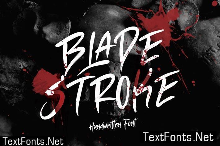 Blade Stroke Font  Y3NKWJ6