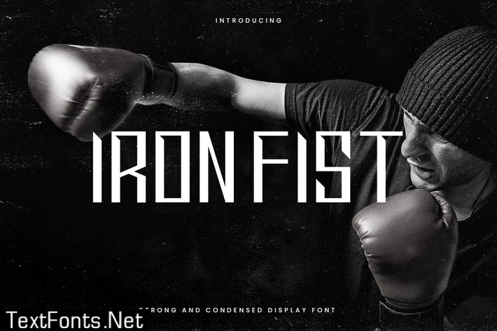 Ironfist - Strong Condensed Display Sans 6T9XABJ