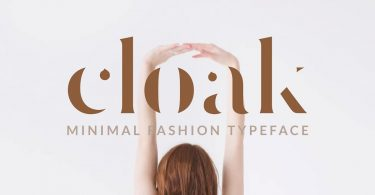 Cloak - Minimal Fashion Font 2607195