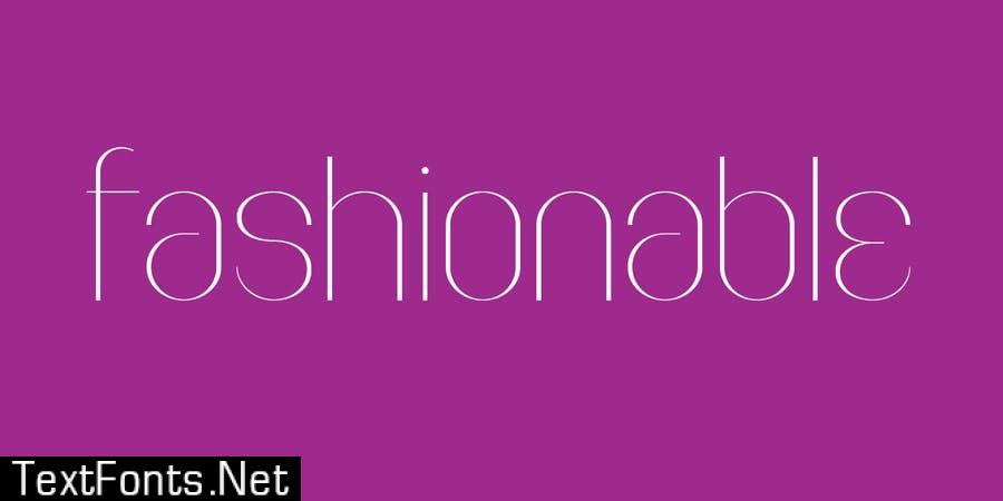 Faddish Font