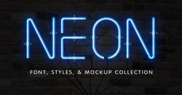 The Neon Font & Sign Collection 1874128