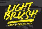 Lightbrush Font