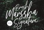 Marssha Brush Signature