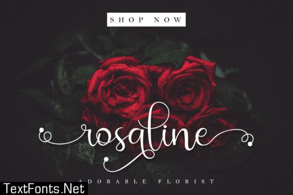 Rossalia Shine Font