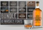 Whiskey Fonts Bundle 4577974