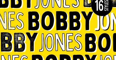 Bobby Jones - 16 Fonts (LAUNCH SALE) 2933849