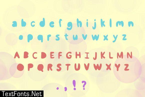 Bubble Buddies Font