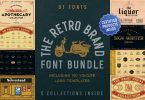 The Retro Brand Font Bundle 3590884 VFX