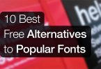 10 Best Alternatives to Popular Fonts