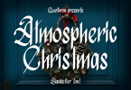 Atmospheric Christmas Font