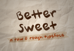 Better Sweet Font