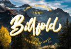 Billfold Font