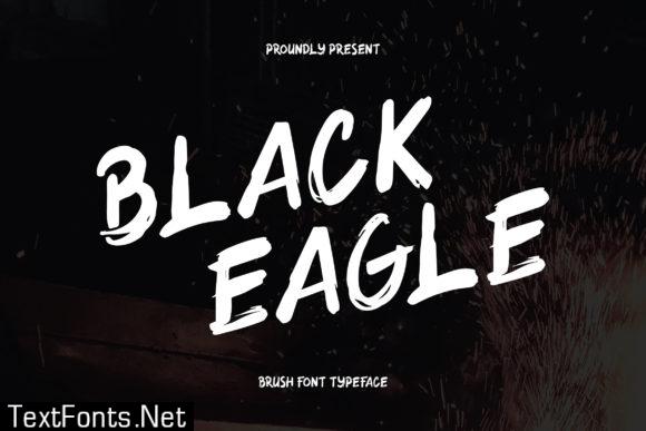 Black Eagle Font