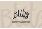 Blitz Font