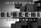 Blocchi Font