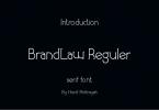 Brandlaw Font