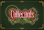 Collectials Font