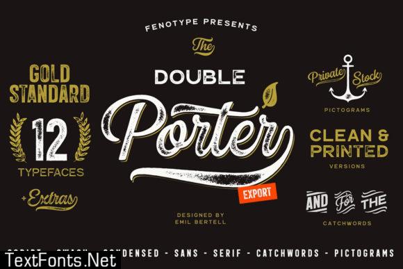 Double Porter Font