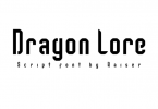 Dragon Lore Font