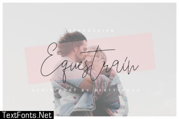 Equestrain Font