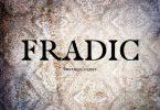 Fradic Font