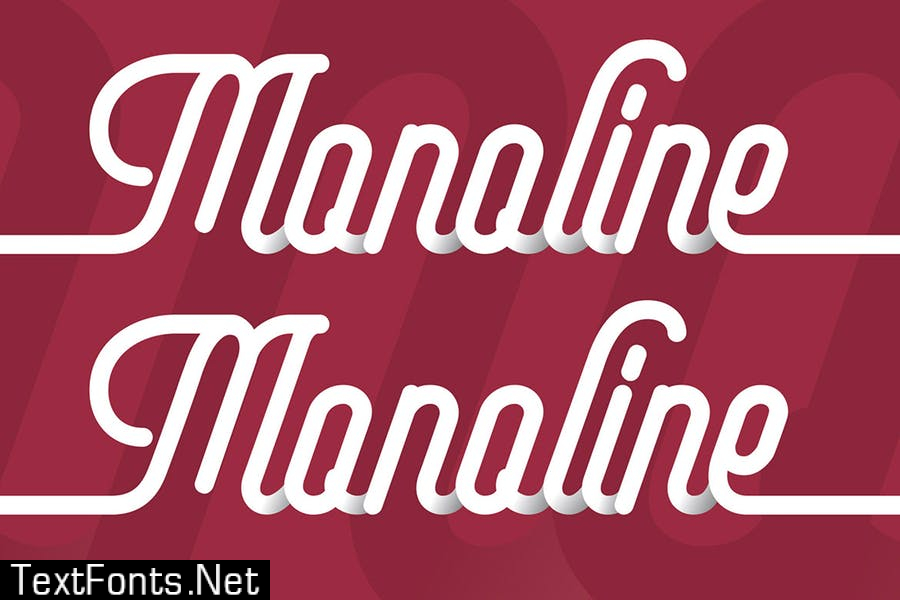 Frenda - a Monoline Typeface