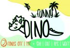 Funny Dino Font