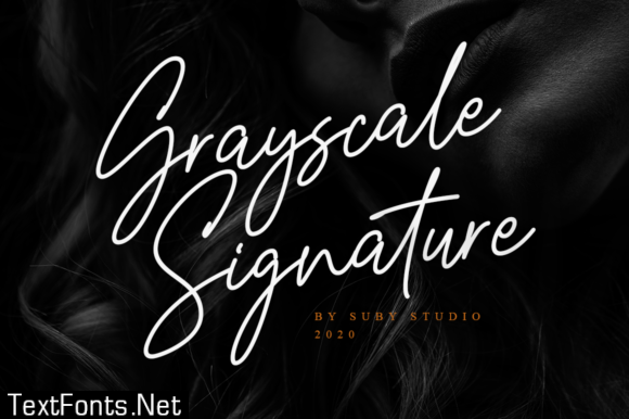 Grayscale Font