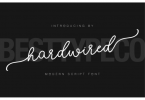 Hardwired Font