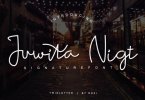 Juwita Night Font