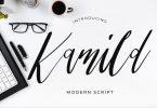 Kamild Calligraphy Font