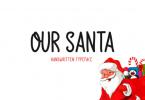 Our Santa Font