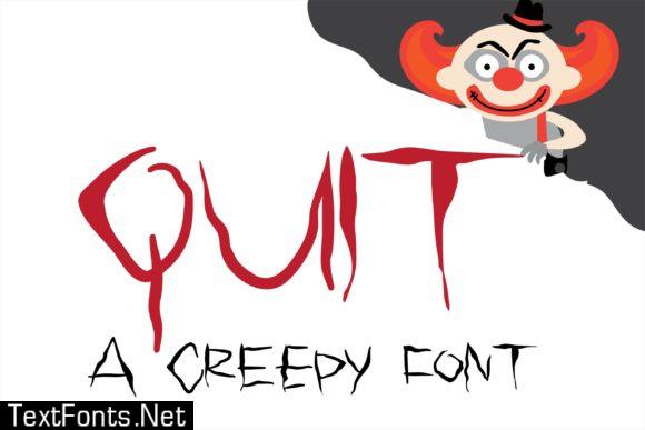 Quit Font