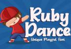 Ruby Dance Font