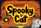 Spooky Cat Font