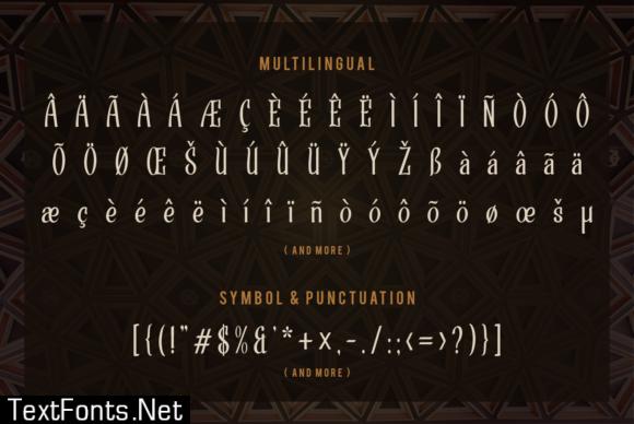 Strandall Font