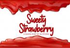Sweety Strawberry Font