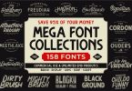 The MEGA FONT COLLECTIONS 2020 4539258