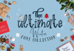 The Ultimate Winter Font Collection