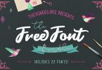 TheHungryJPEG - The Font Bundle