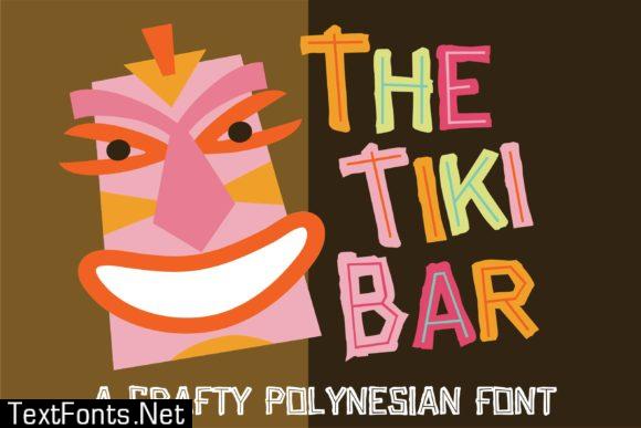 Tiki Bar Font