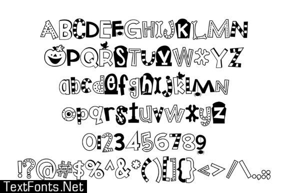 Trick or Treats Font