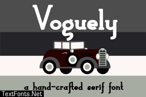 Voguely Font