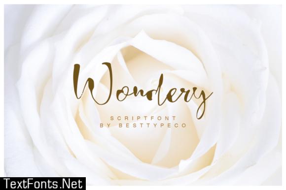 Wondery Font