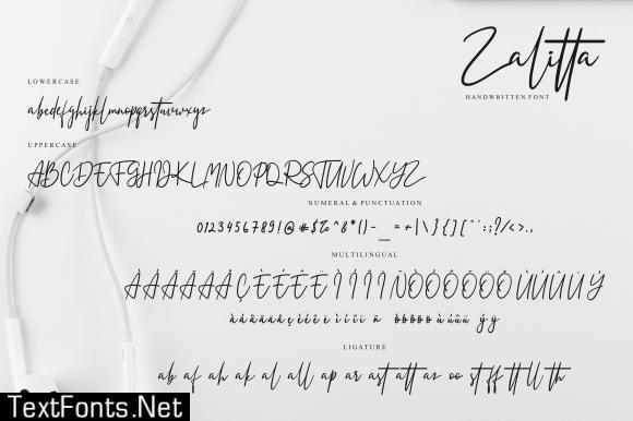 Zalitta Font
