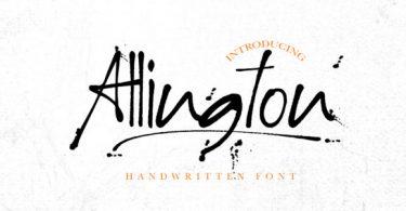 Allington Font