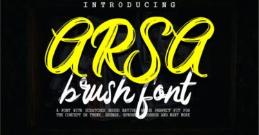 Arsa Font