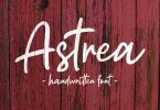 Astrea - Handwritten Font