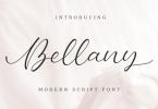 Bellany Font