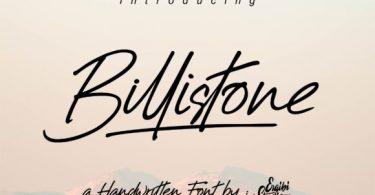 Billistone Font